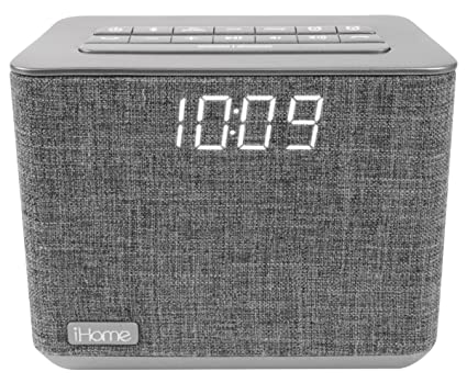 914e265ab2c Image Unavailable. Image not available for. Color  iHome iBT232 Bluetooth Dual  Alarm FM Clock Radio ...