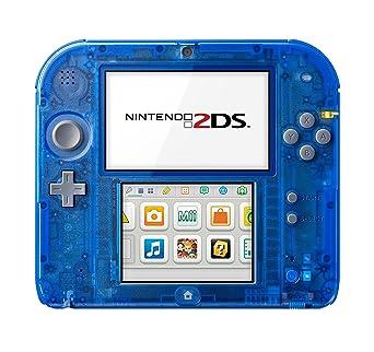 30753d644ec Console Nintendo 2DS - transparente bleu: Amazon.fr: Jeux vidéo