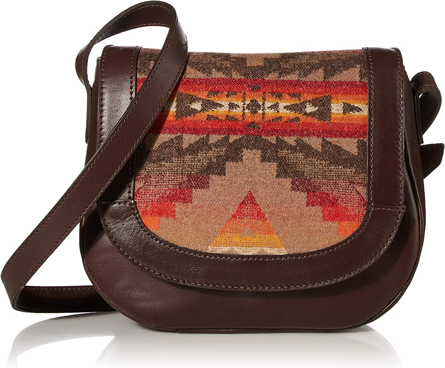 Pendleton Women's Saddle Bag, Sierra Ridge - Tan, One Size