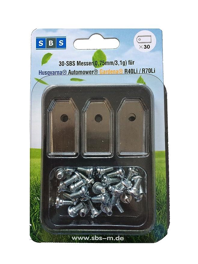SBS ® Cuchillas de repuesto para muchos Husqvarna ® AUTOMOWER ®