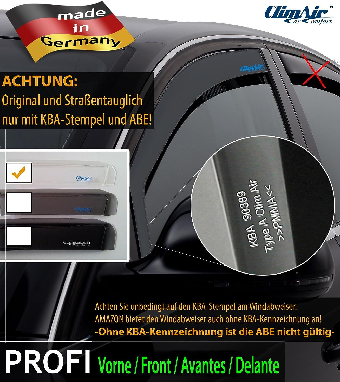 vorne ClimAir Windabweiser - CLK0033988K - Farbe: glasklar