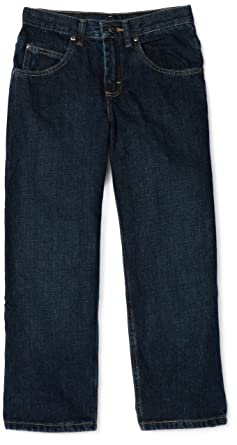 ad5fefc0 Amazon.com: Lee Big Boys' Premium Select Loose Fit Straight Leg Jeans:  Clothing