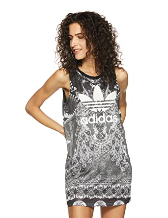 b7be2f0ca4875f adidas Originals Womens Womens Pavao Tank Dress in Multi Colour - 8  adidas  Originals  Amazon.co.uk  Clothing