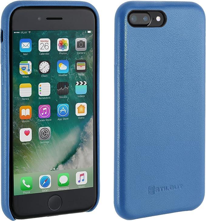 APPLE - Cover in Pelle per iPhone 8 Plus / 7 Plus Colore Nero - ePRICE