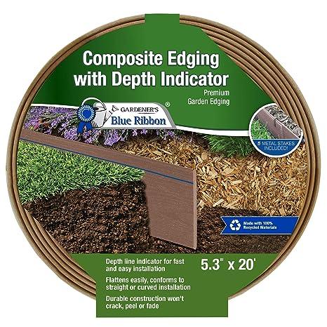 Gardener's Blue Ribbon 903009BR Composite Lawn Edging