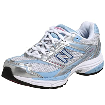 New Balance Women\u0027s WR768 Running Shoe,White/Carolina/Raspberry,10.5 B