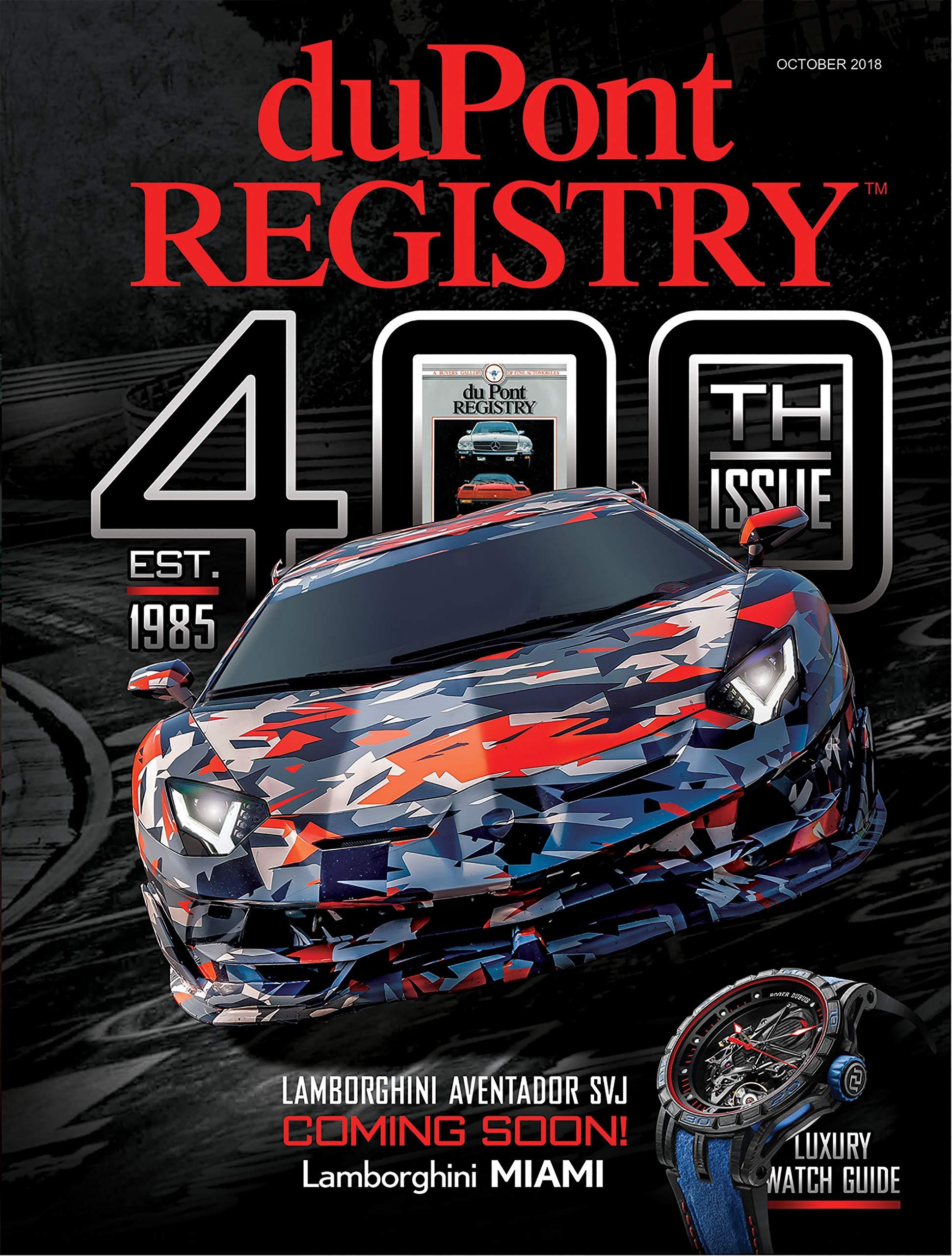 Dupont Registry Autos October 2018 Dupont Registry Amazon Com Books