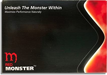 Amazon.com: Red Monster (10 Caps) All Natural Male Energy: Health ...