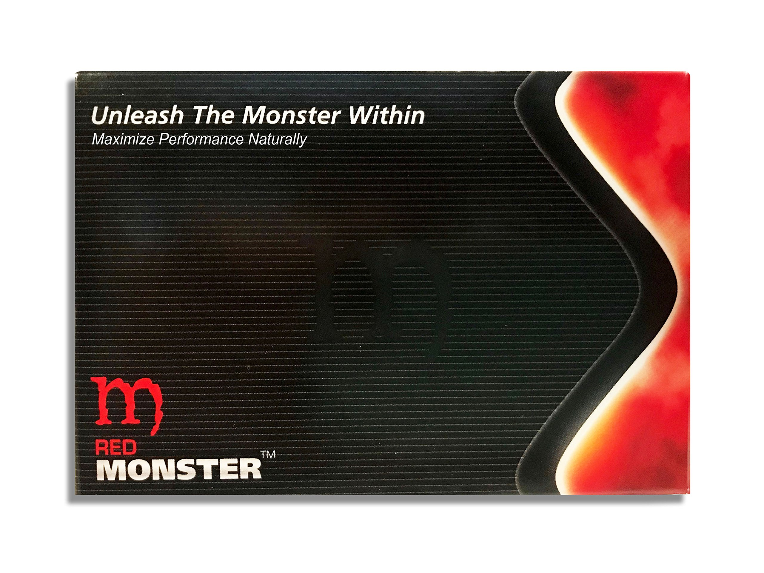 Red Monster (10 Caps) All Natural Male Energy by RSM