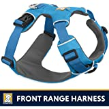 Ruffwear All Day Adventure Dog Harness, Small Breeds, Adjustable Fit, Size: Small, Blue Dusk, Front Range Harness, 30501-407S