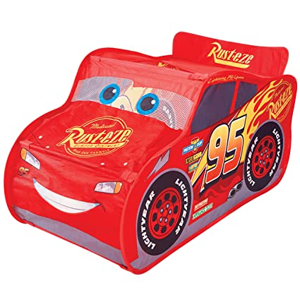 Amazon.com: Coches tienda de campaña/Racer McQueen: Toys & Games