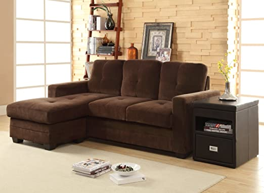 Amazon.com: homelegance 9789 cf-3lc Seccional sofá con ...