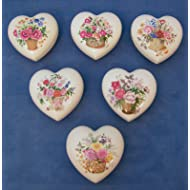 24 Limoges Heart Trinket Jewelry Boxes Wedding Bridal Shower Favor Party Event Gift