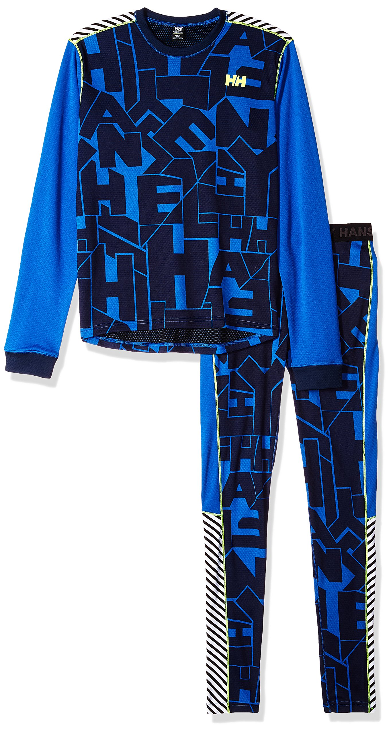 Helly Hansen Junior Lifa Active Baselayer Set, Olympian Blue, Size 12