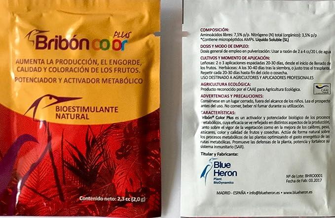 BRIBON® (400 m2). Potente Bioestimulante-Abono orgánico ...