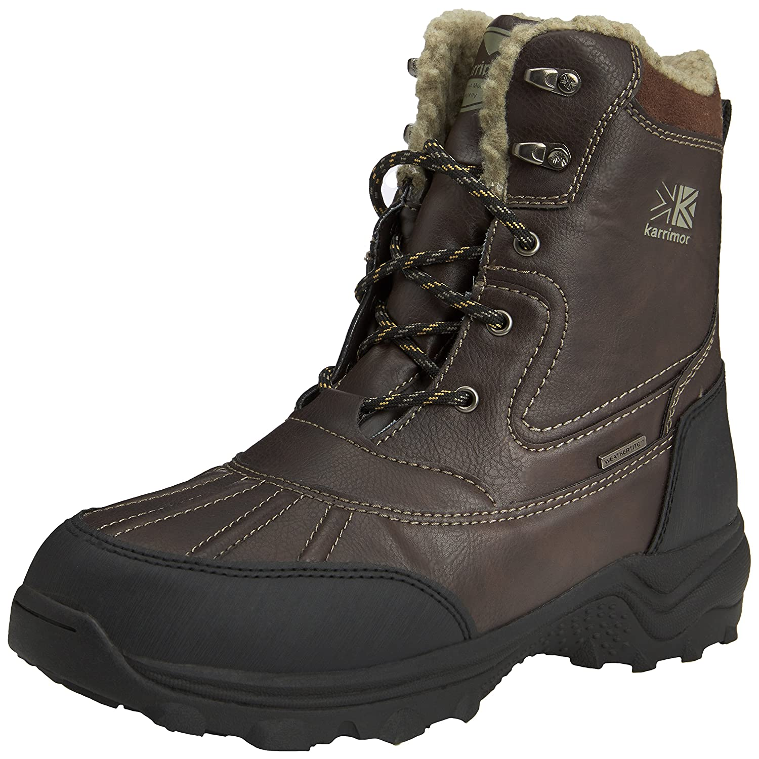 Karrimor Snow Casual Weathertite High Rise Hiking de cuero hombre