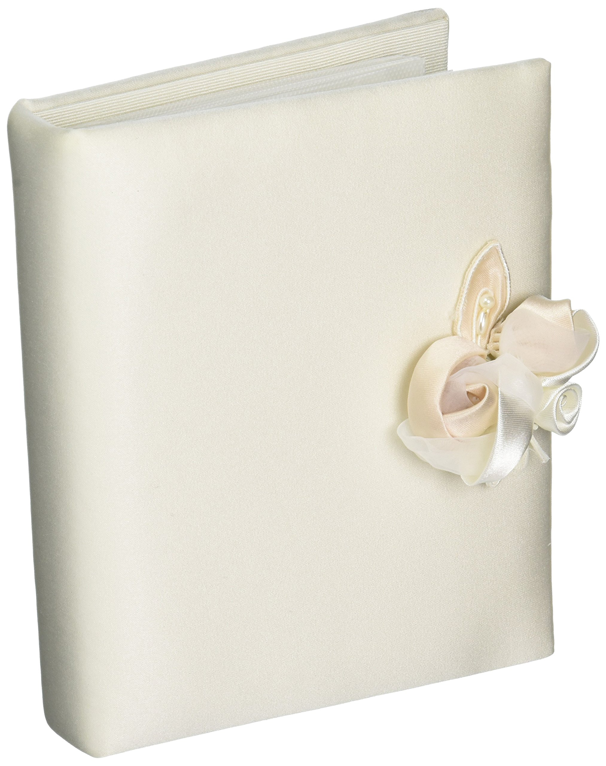 Amour Wedding Album, 4-Inch by 6-Inch, Ivory