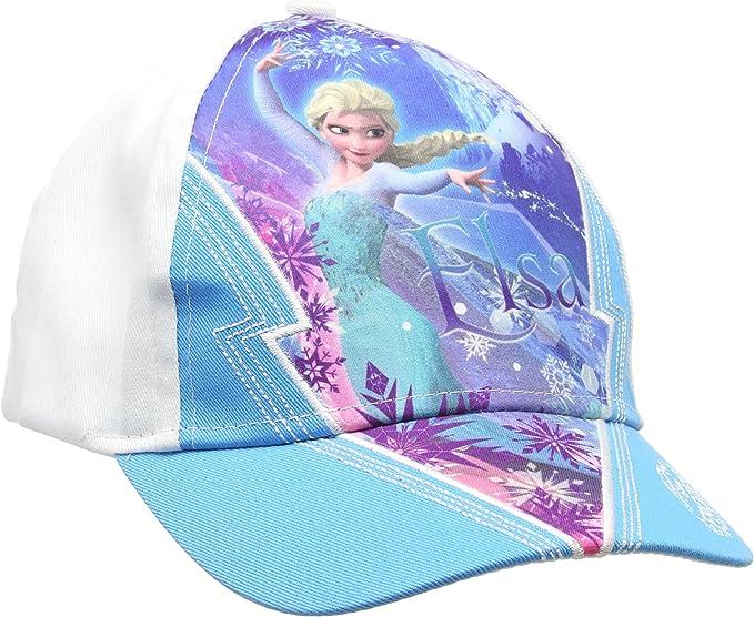 Disney Frozen, Gorra para Niñas, Azul (Blue 16-4535TC) Talla única ...