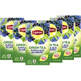 Lipton Green Tea Bags Flavored with Other Natural Flavors Purple Acai Blueberry Can Help Support a Healthy Heart 1.13 oz…