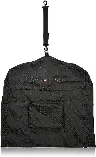 Tommy Hilfiger Nylon 28 cms Black Travel Garment Bag (TH/FGB01A12) Garment Storage Bags at amazon