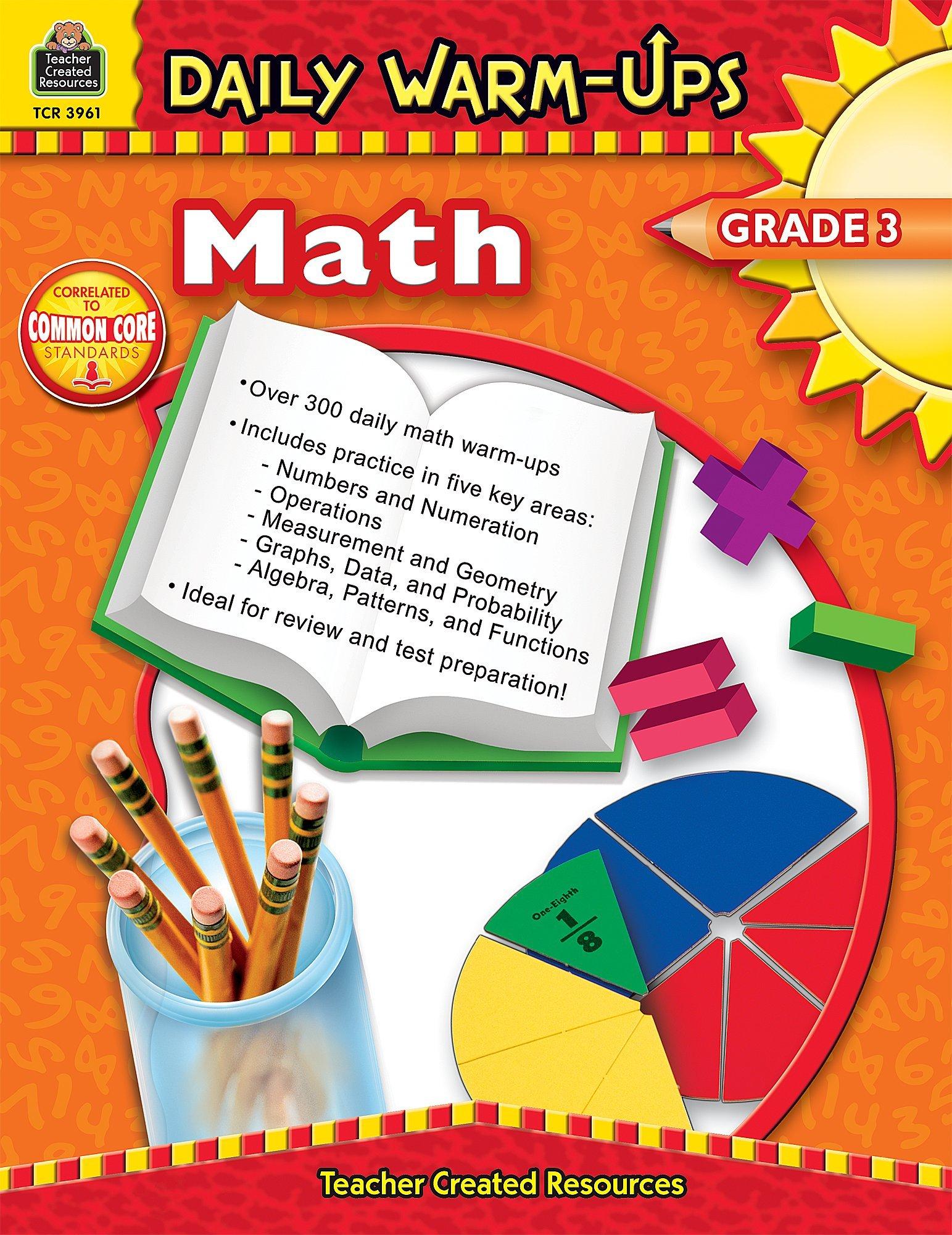 Daily Warm-Ups: Math, Grade 3 pdf