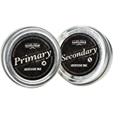 Can You Handlebar Premium All-Natural Primary and Secondary Moustache Wax Set: Daily and Extra Strength Wax Kit