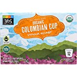 365 Everyday Value, Organic Colombian Cup Coffee Capsules, 12 ct