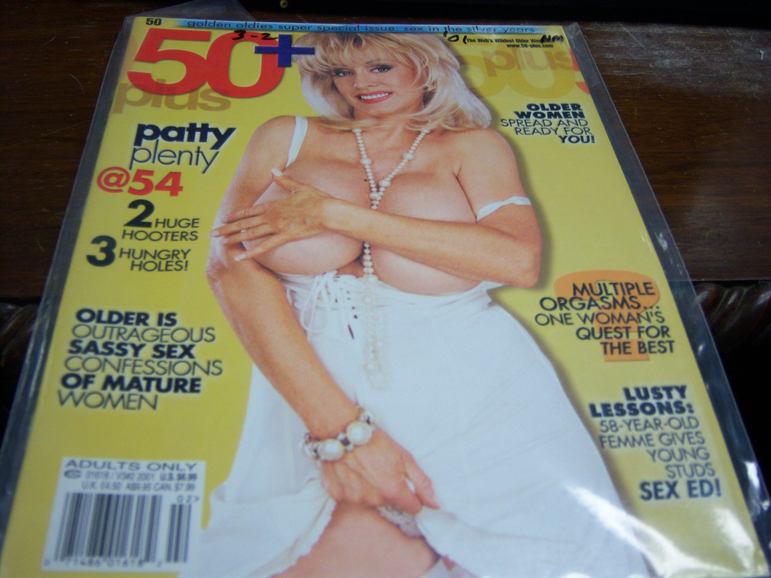 50 Adult Magazine V Patty Plenty At 54 Busty Cover 50 Plus Books Amazon Ca