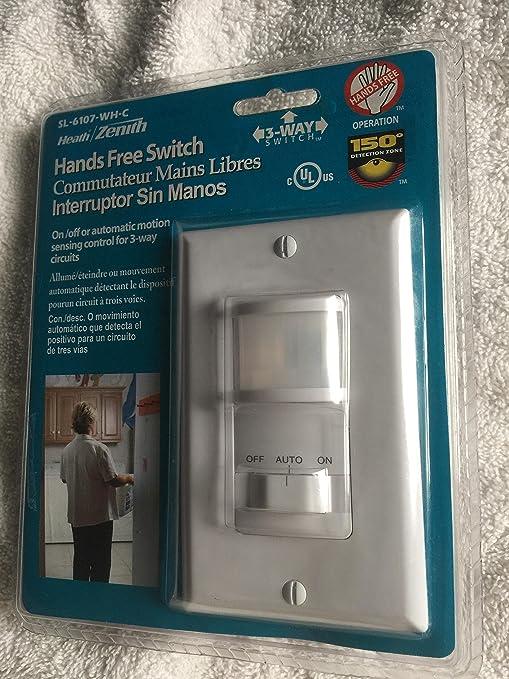 Amazon.com: Three-Way Switch, 150 grados de sensor de ...