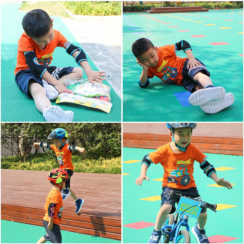 Details about  /1 Set//7pcs Balance Car Shock Absorbent Elbow Guard Hand Guard for Children