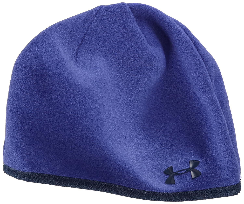 0983eebcf72 Under Armour UA Storm Women s Beanie Hat CGI Fleece Beanie Purple purple  Size One Size  Amazon.co.uk  Sports   Outdoors