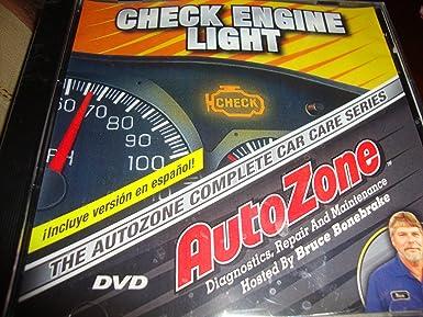 Autozone DVD ....Check Engine Light .... Diagnostic Repair And Nice Ideas