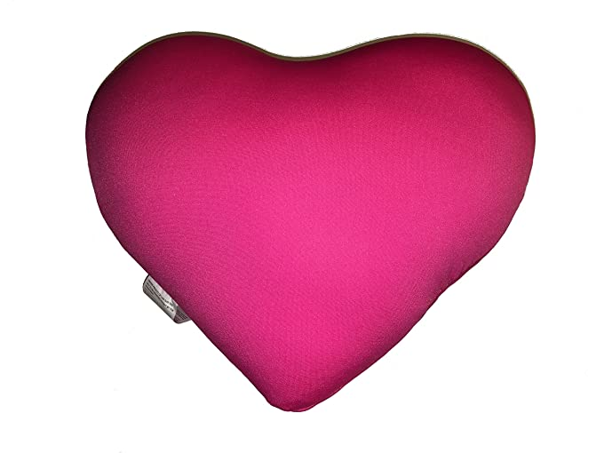 Amazon.com: Heart Shaped Micro Bead Squishy Pillow (Red): Home ...