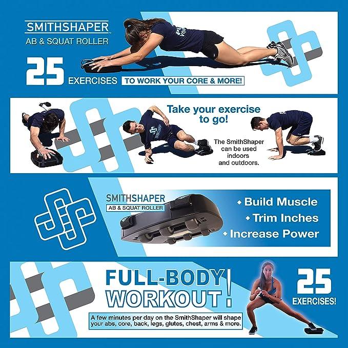 0d7ecc2cd9 Amazon.com   SmithShaper Ab   Squat Multi-Purpose Exerciser - 25 ...