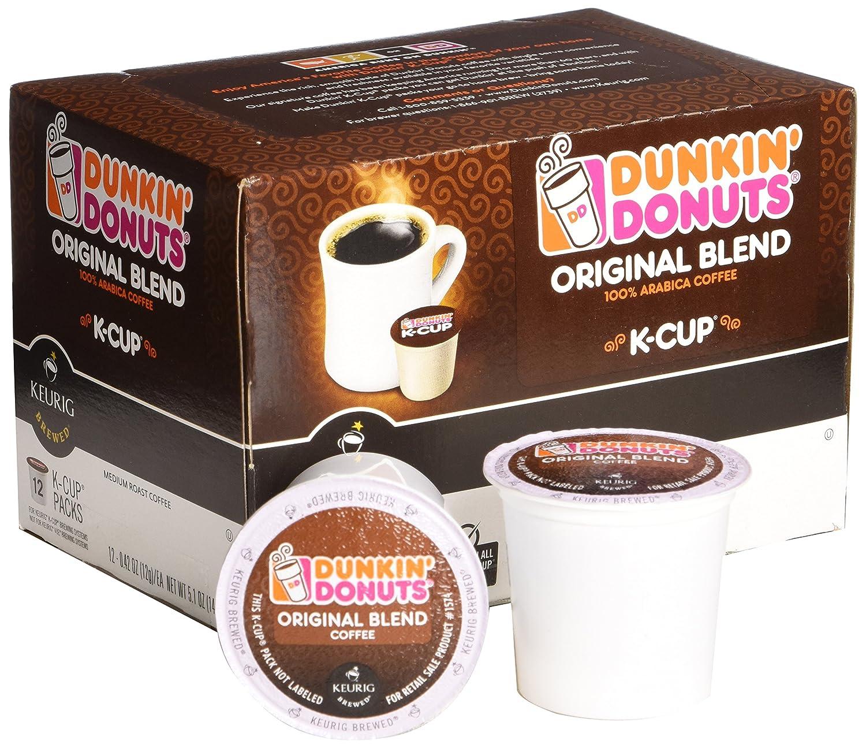 Dunkin Donuts K-Cups Original Flavor Medium Roast - Box of 12 ...