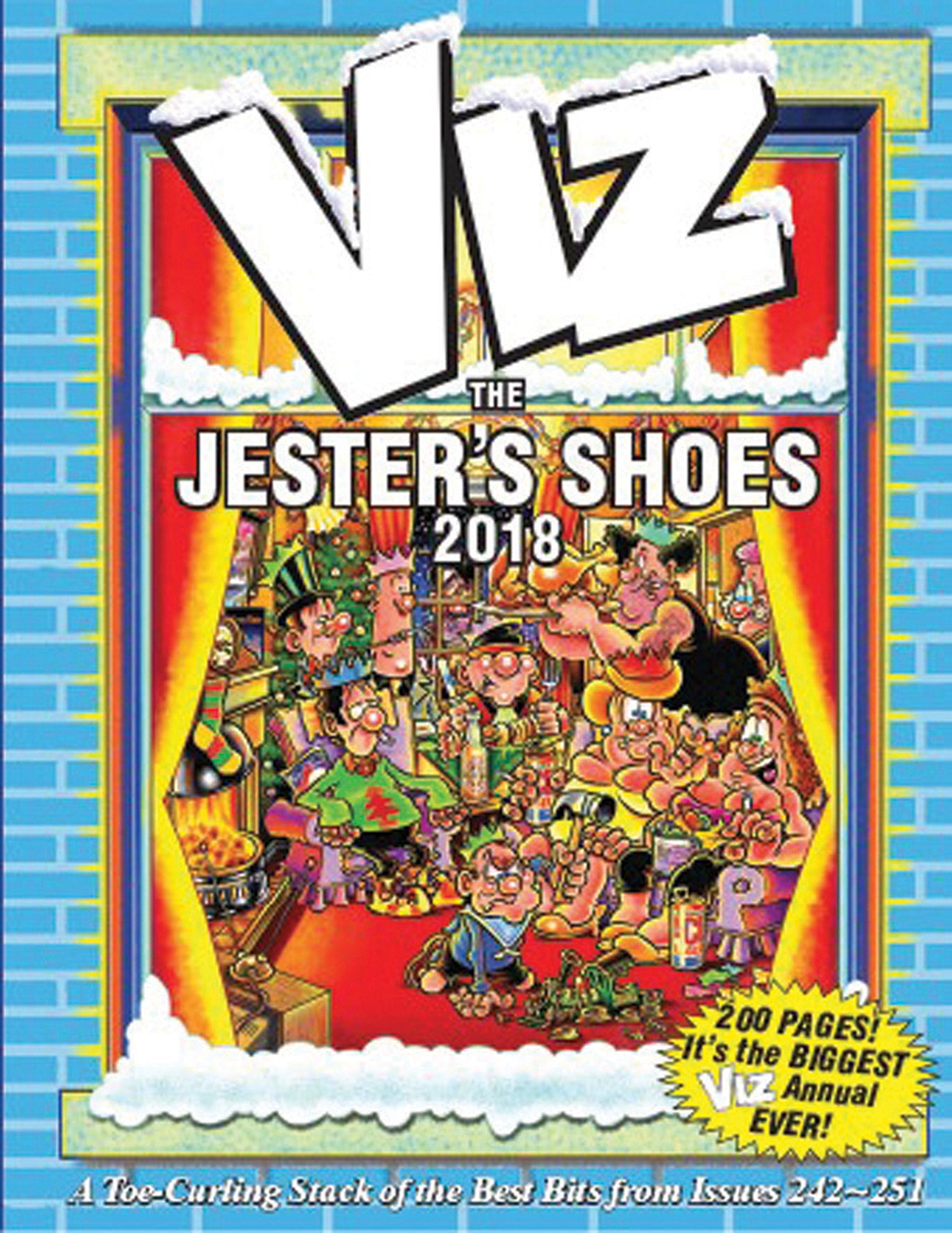 fbdde3ec29aa Viz Annual 2018  The Jester s Shoes (Annuals 2018) Hardcover – 5 Oct 2017