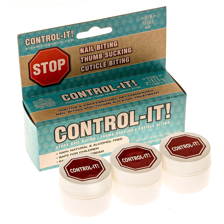 Amazon.com : Control-It Stop Thumb Sucking & Nail Biting Cream (3 ...