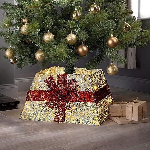 Taylor & Brown® - Falda de Mimbre para árbol de Navidad: Amazon.es ...
