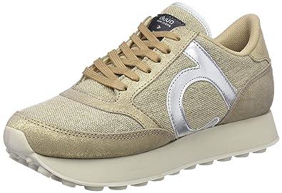 DUUO Prisa Hight, Zapatillas para Mujer, Dorado (Gold), 36 EU