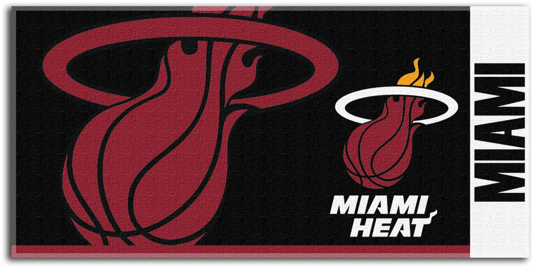 Miami Heat NBA 34x70 Oversized Cotton Beach Towel