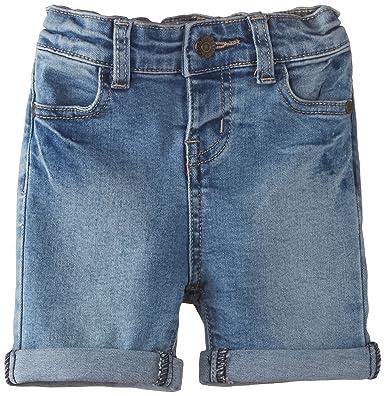 Pumpkin Patch Girls Knee Length Denim Shorts, Blue (Abrasion Wash ...