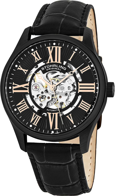 Amazon Com Stuhrling Original Men S 747 03 Atrium Automatic Watch