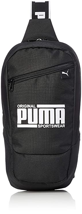 665e5c6490 PUMA Unisex's Sole Cross Bag Backpack, Black, OSFA: Amazon.co.uk ...