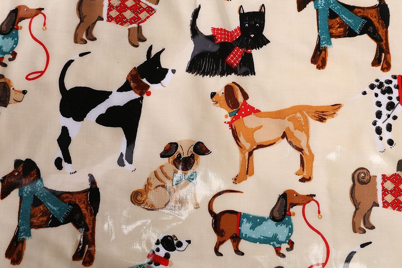 Taz/ón de porcelana china con dise/ño de perros multicolor de Ulster Weavers Medium
