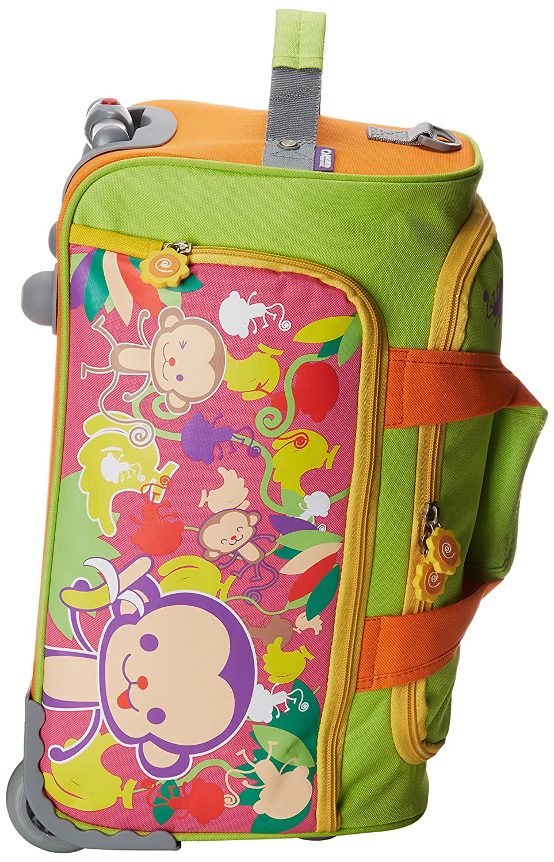 Green//Pink RFS-022 GREEN//PINK J World New York Luggage Monkey Ii