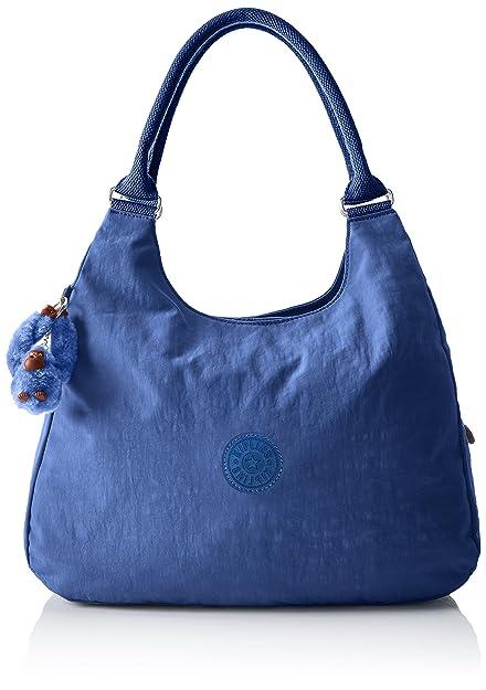 1e7891425 Kipling Bagsational, Women's Cross-Body Bag, Blau (Jazzy Blue), 39x34