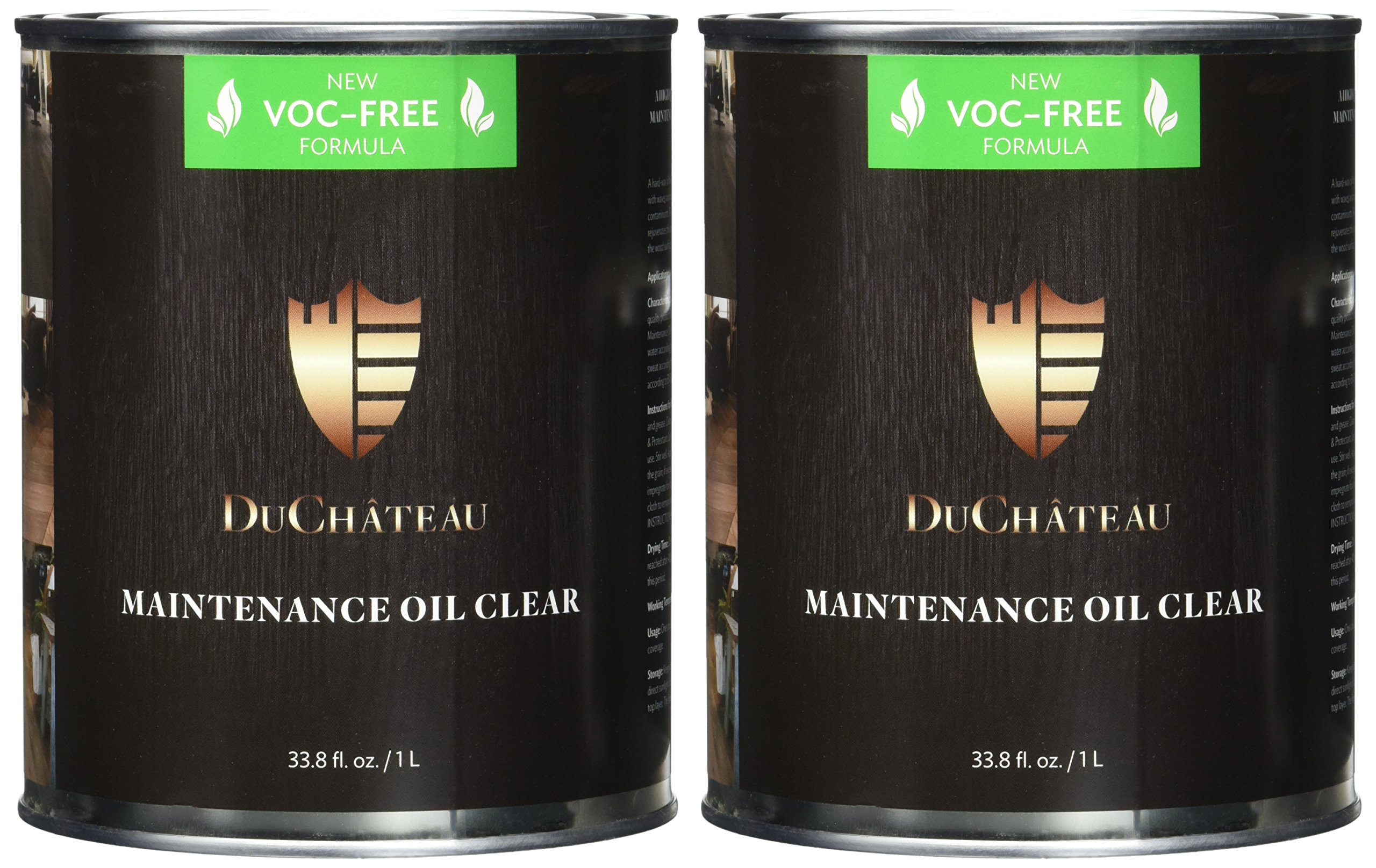 DuChateau Floors Maintenance Oil Clear 1 Liter (Pack of 2) by DuChateau (Image #2)