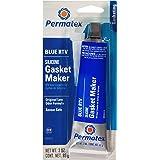 Permatex 80022 Sensor-Safe Blue RTV Silicone Gasket Maker, 3 oz. Tube