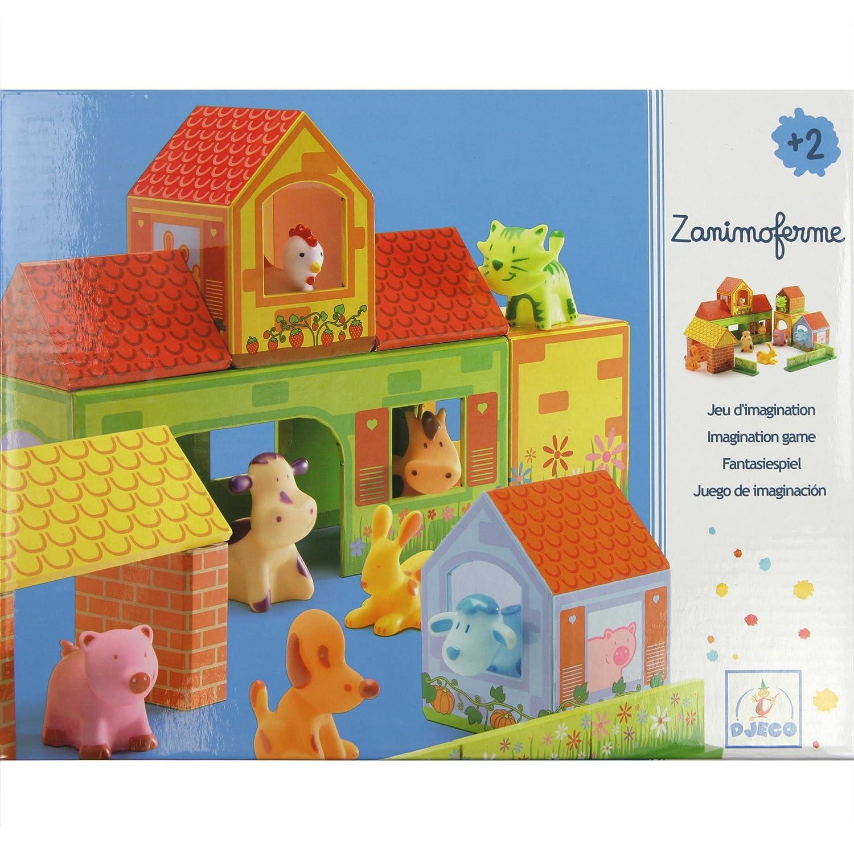 Zanimoferme 22-Piece Farm Playset Djeco