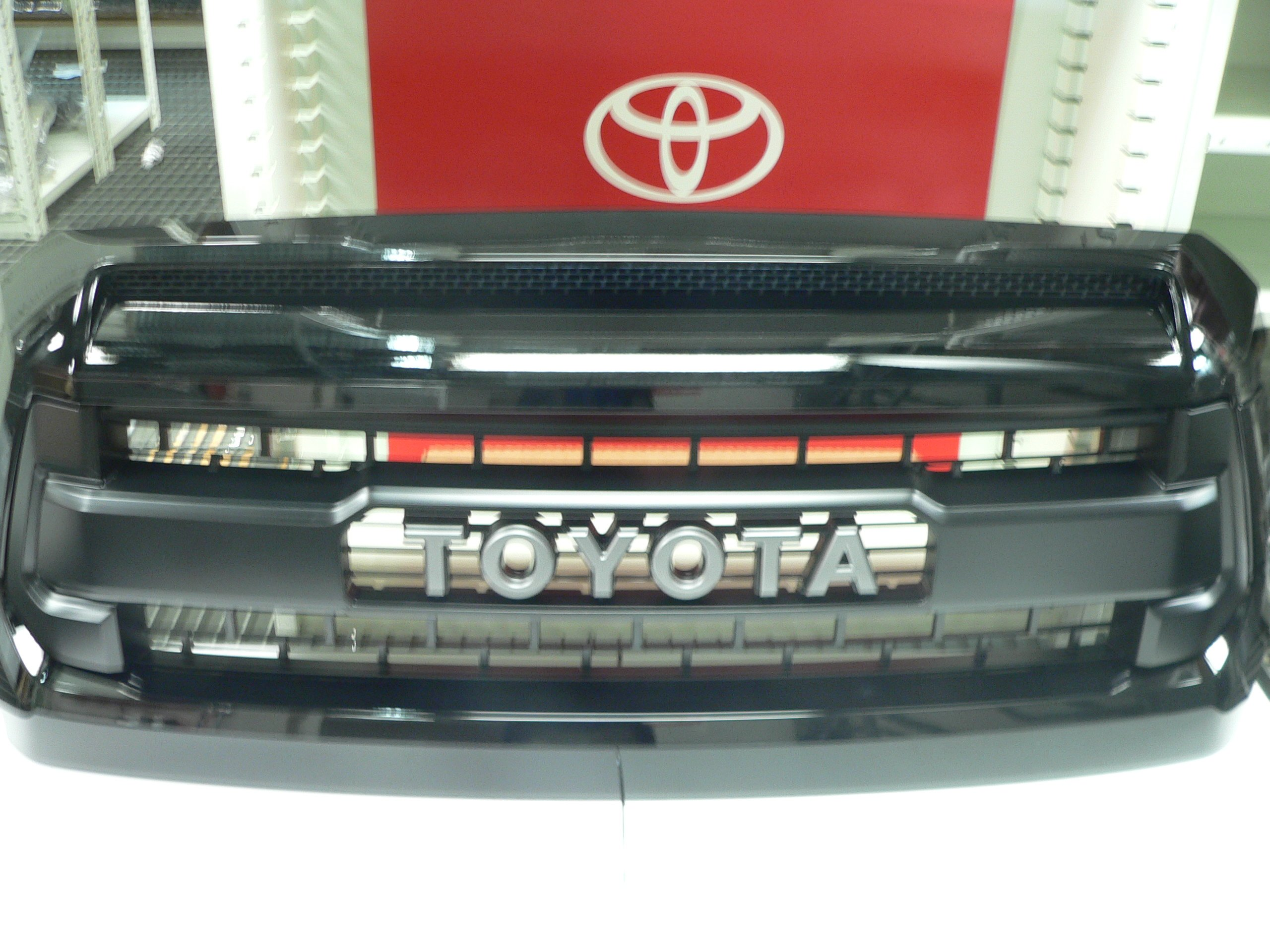 Toyota Trd Pro Grille with Hood Bulge